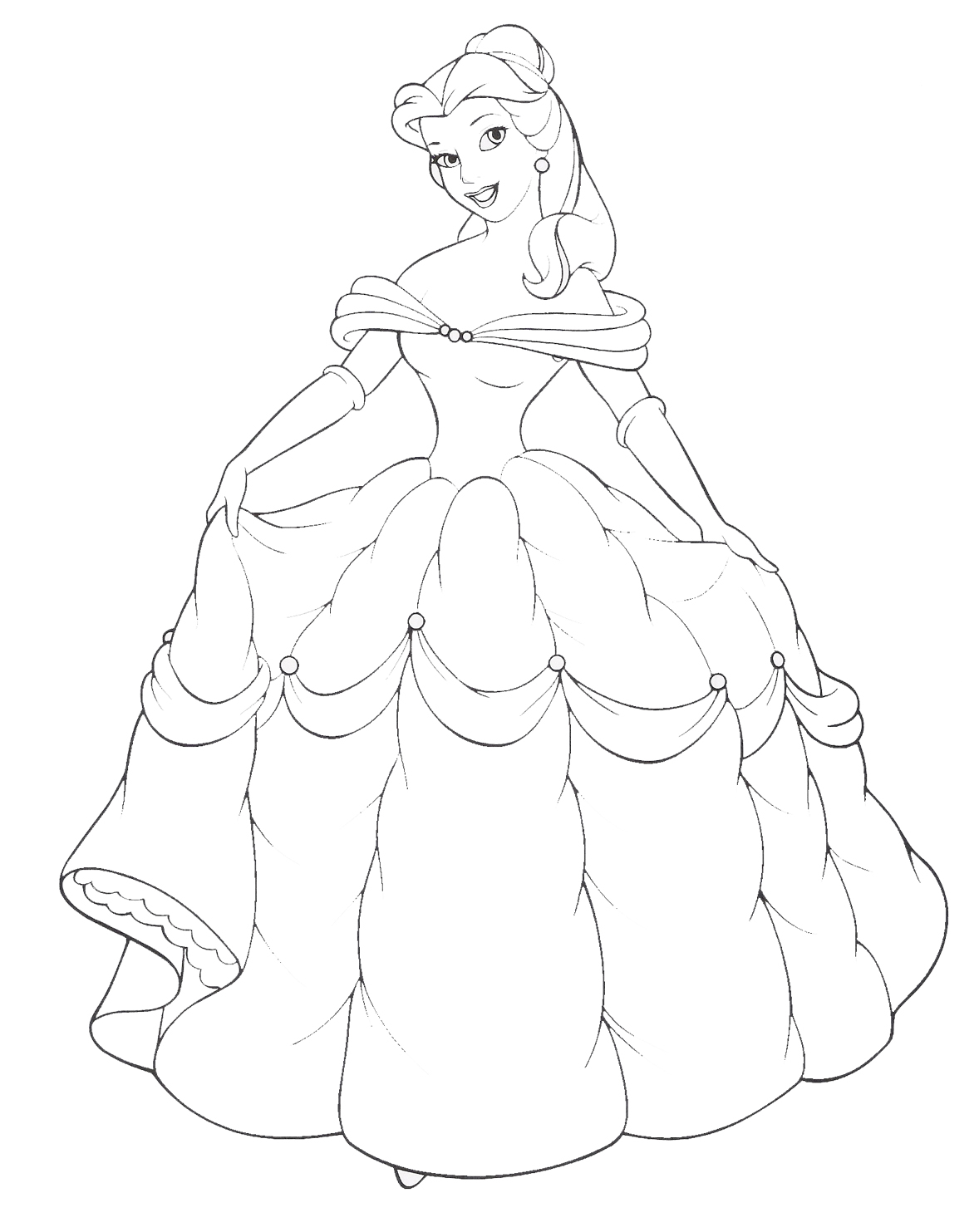 belle coloring pages free get this disney princess belle coloring pages online 73518 belle coloring pages free