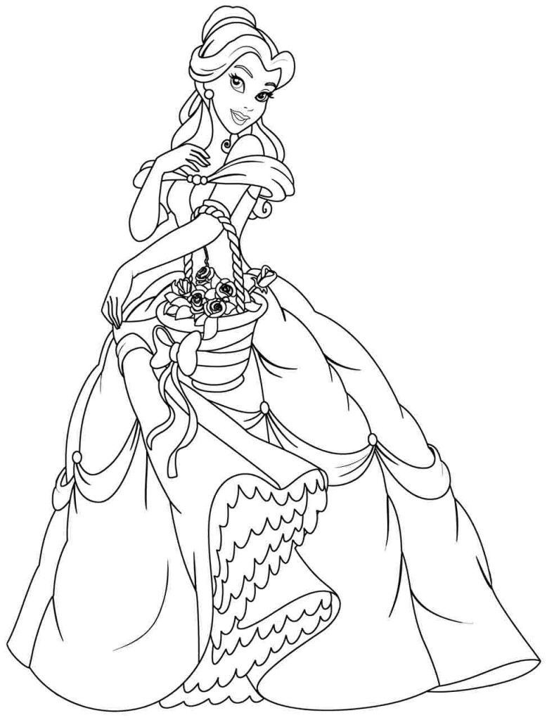 belle coloring pages free princess belle coloring pages to download and print for free belle coloring free pages