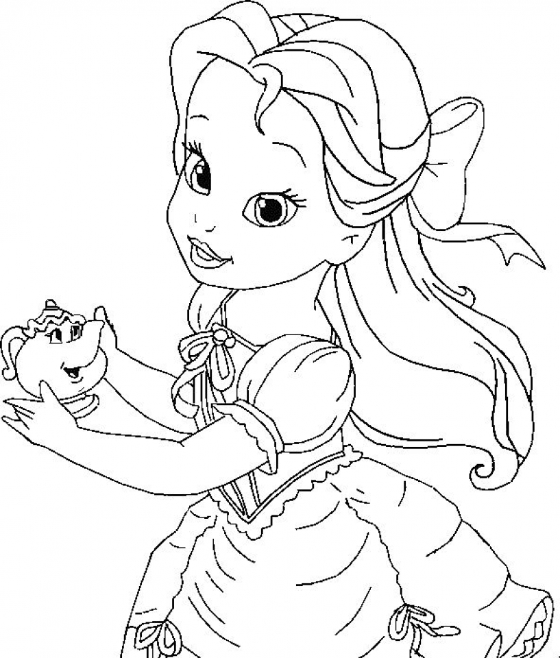 belle coloring pages free scribebem coloring pages disney princess belle free pages coloring belle