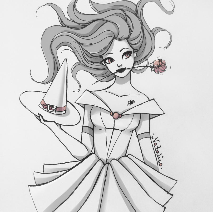 belle drawing more belle inking practice by kilowatts62 on deviantart drawing belle