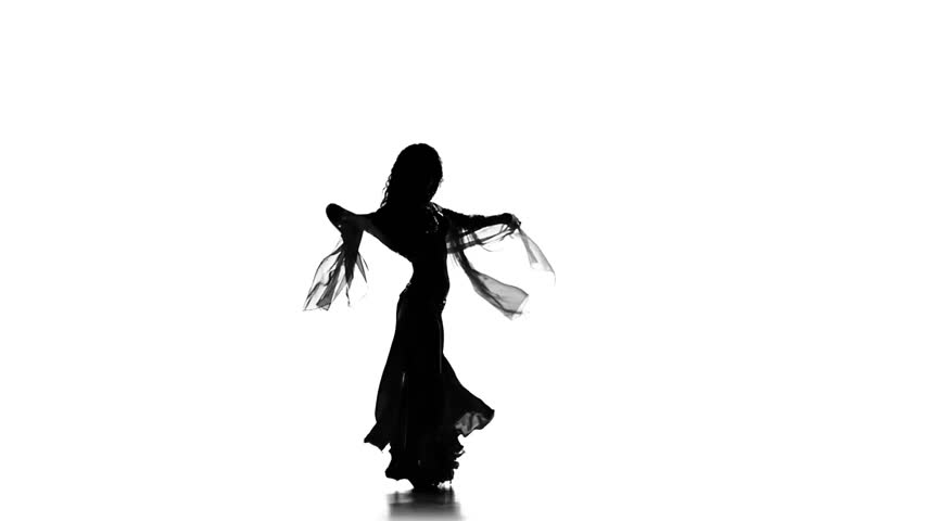 belly dancer silhouette clip art beautiful exotic belly dancer girl shaking her hips on belly clip silhouette dancer art