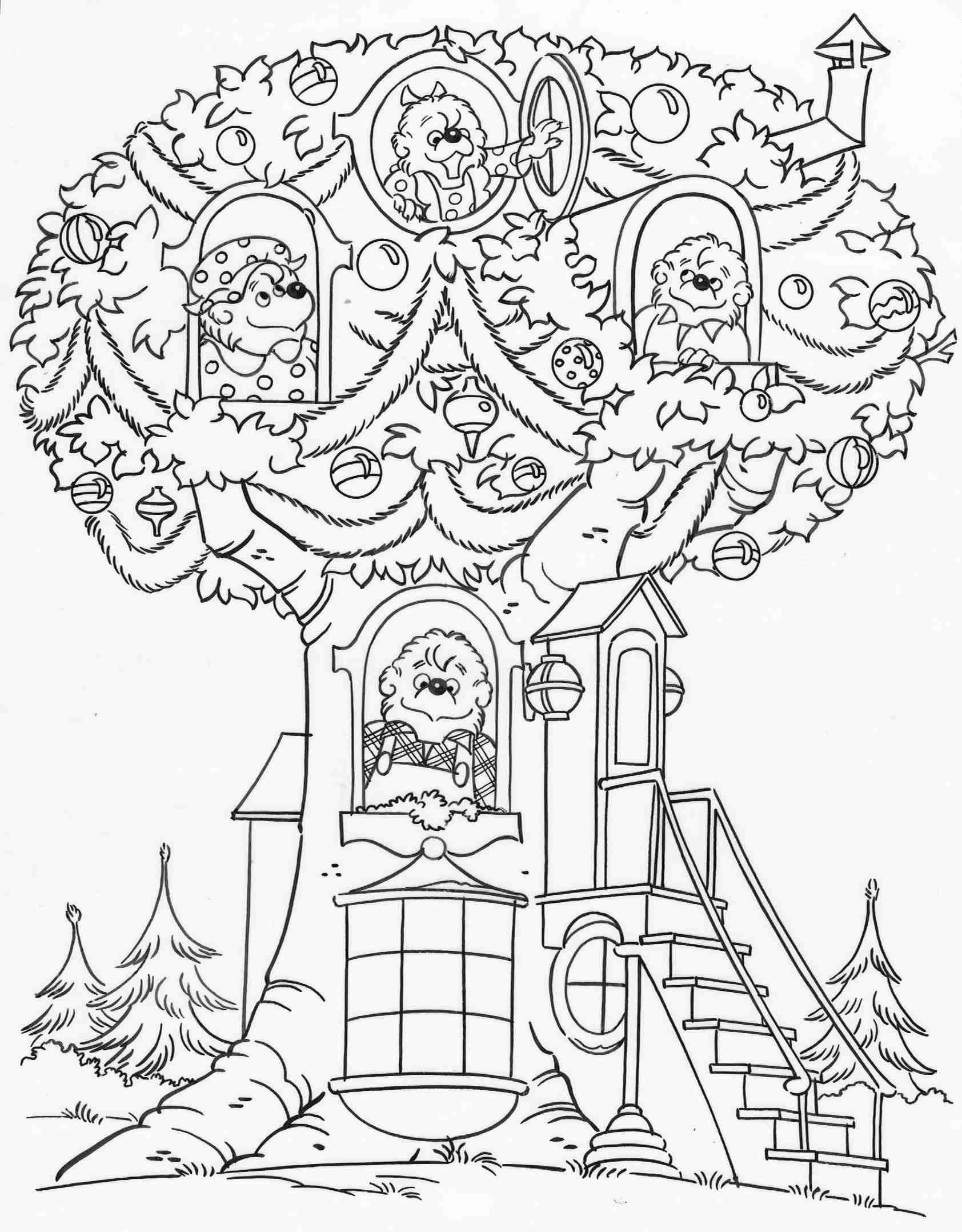 berenstain bears coloring pages berenstain bears coloring pages at getcoloringscom free bears pages coloring berenstain