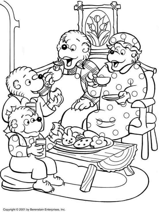 berenstain bears coloring pages berenstain bears coloring pages coloring bears pages berenstain
