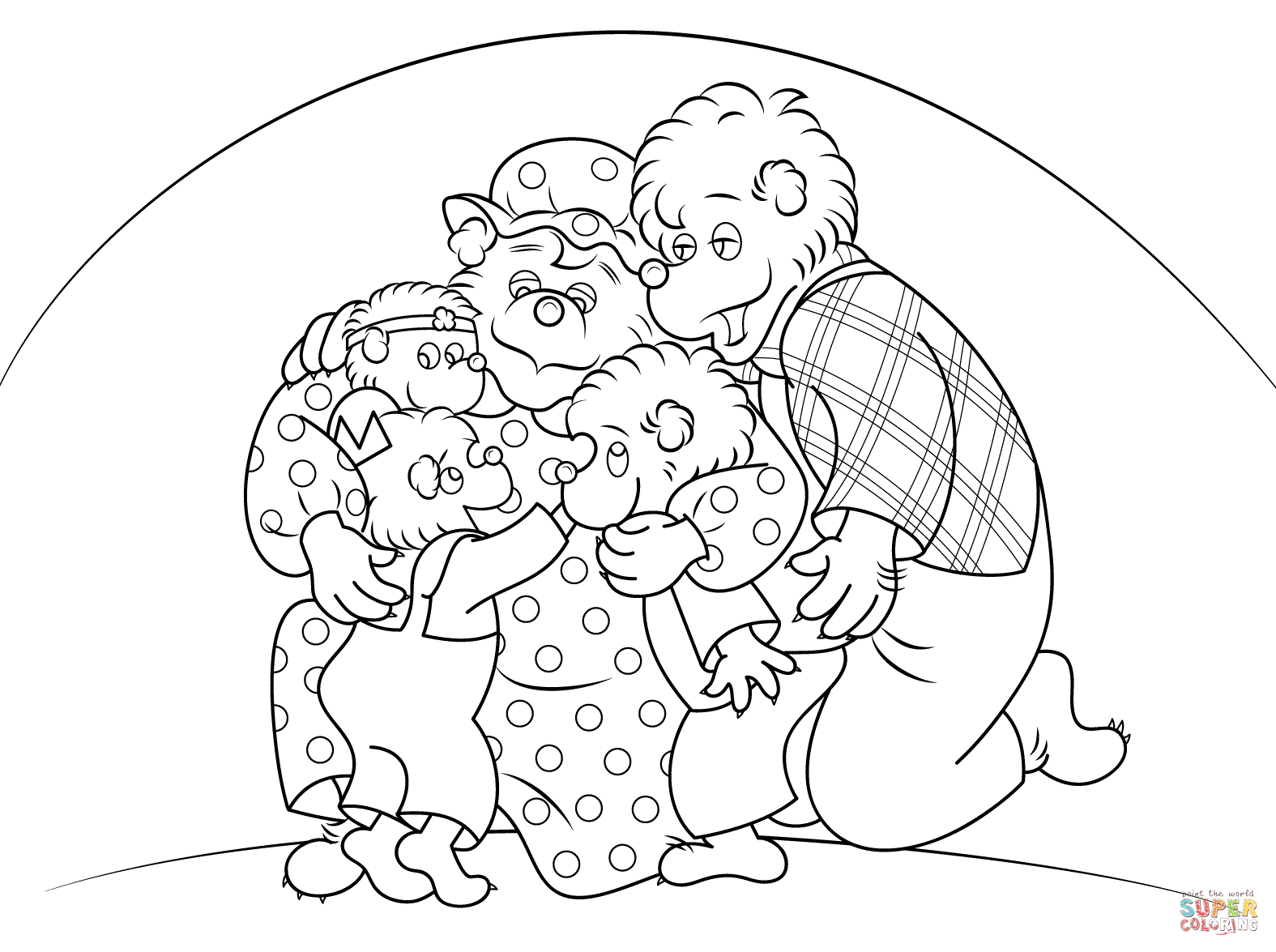 berenstain bears coloring pages berenstain bears halloween coloring pages coloring home coloring berenstain pages bears