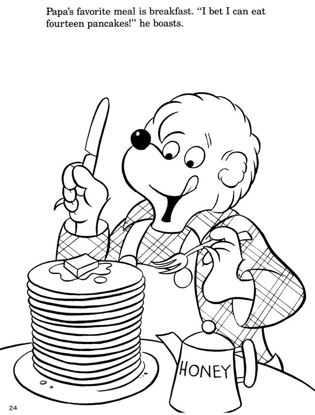 berenstain bears coloring pages coloring activity pages the berenstain bears pampering berenstain coloring pages bears