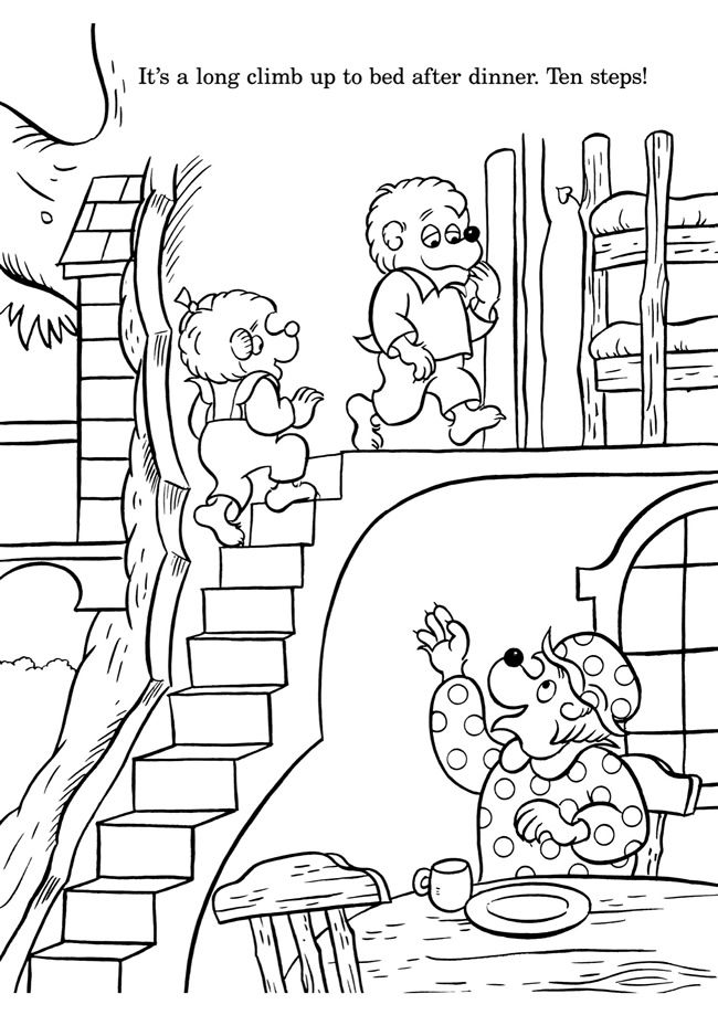 berenstain bears coloring pages pin by april dikty ordoyne on berenstain bears berenstain coloring pages bears
