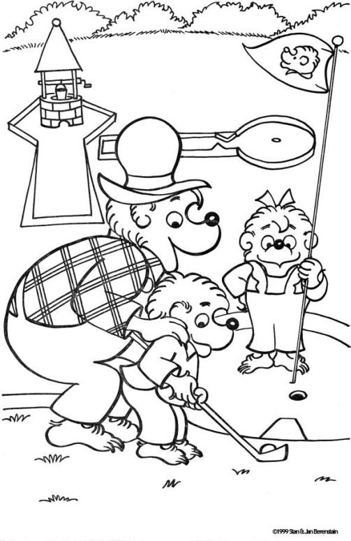 berenstain bears coloring pages the berenstain bears coloring pages coloring home coloring berenstain bears pages