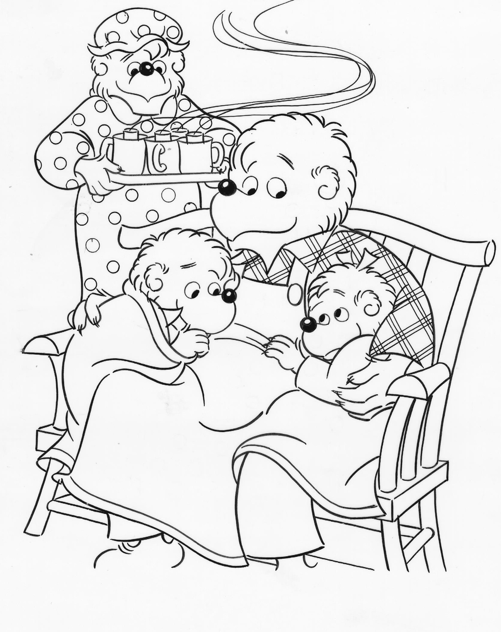 berenstain bears coloring pages the berenstain bears coloring pages coloring home coloring pages berenstain bears