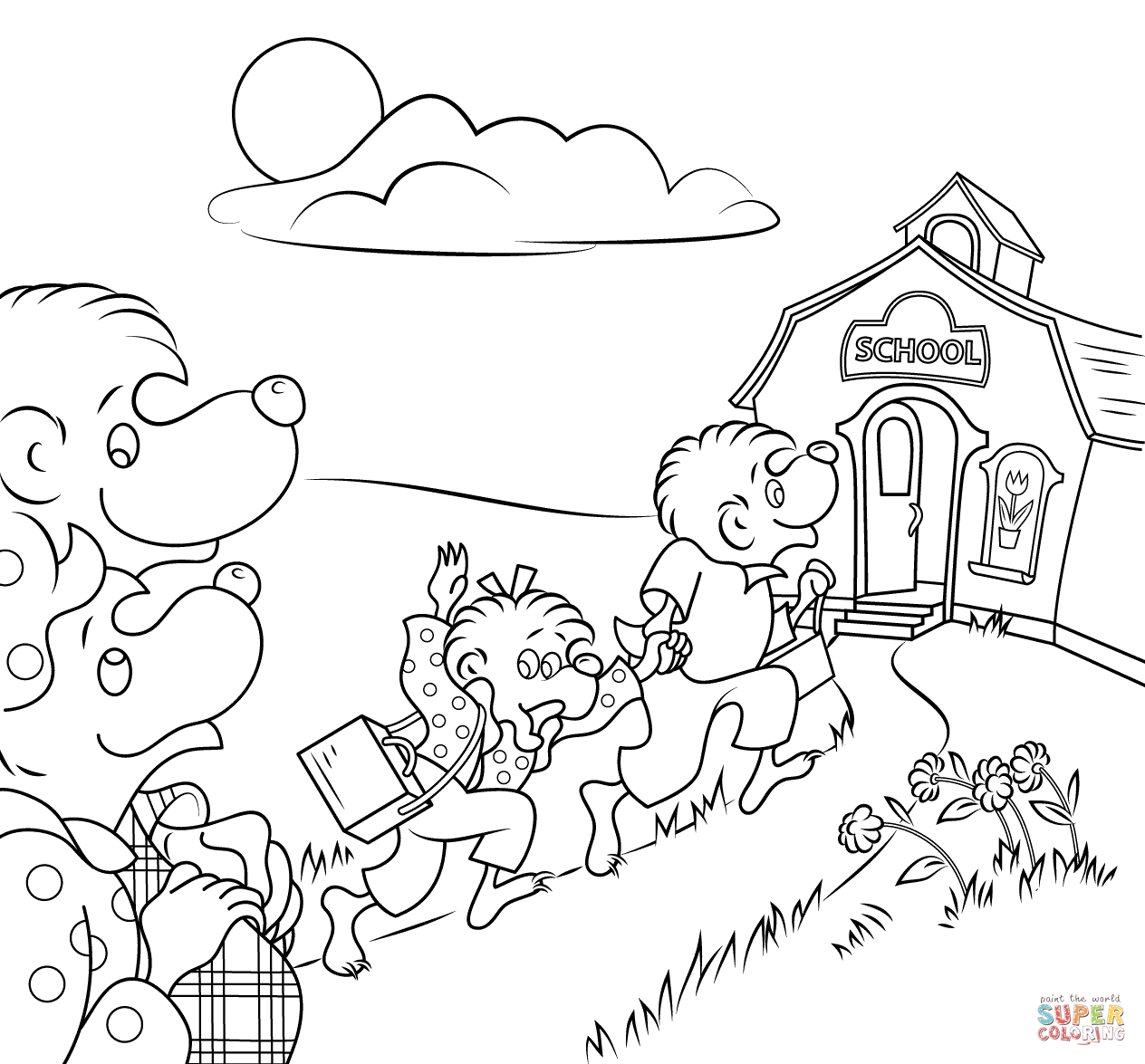 berenstain bears coloring pages top 25 berenstain bears coloring pages for your toddlers bears pages berenstain coloring