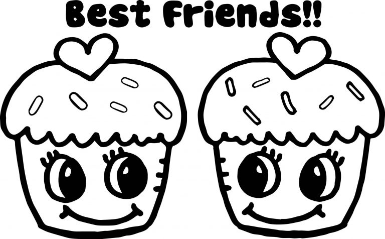 bff heart coloring pages  homeicon