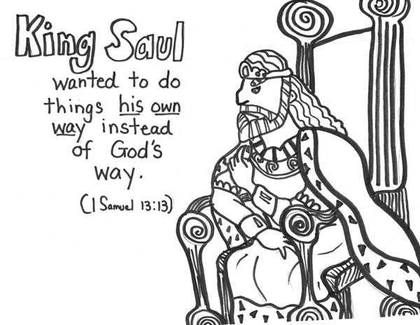bible coloring pages king saul king saul coloring pages free coloring pages free saul bible king pages coloring