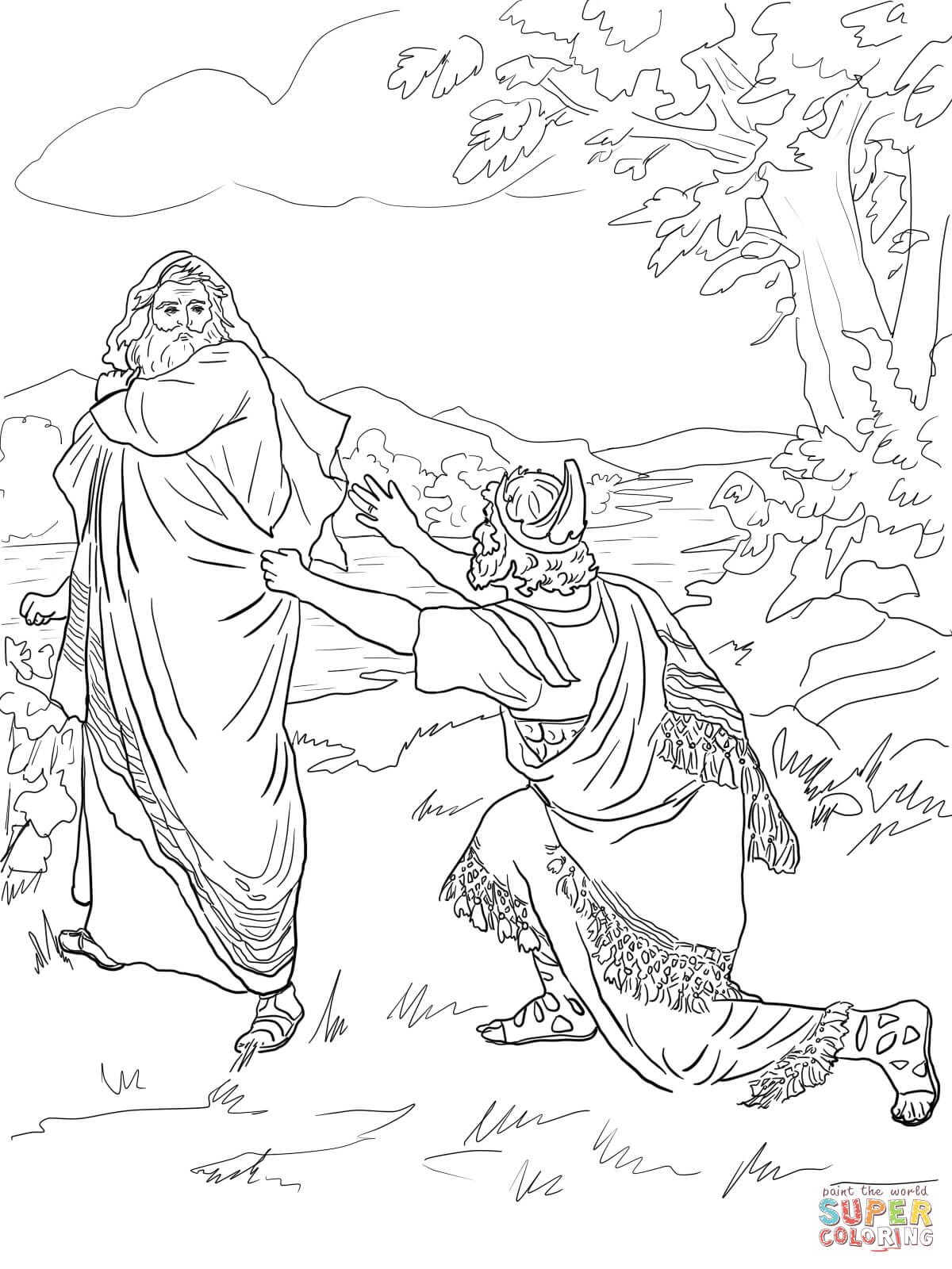bible coloring pages king saul saul becomes israels first king in king saul coloring page pages coloring saul bible king