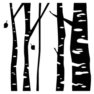 birch tree silhouette tree silhouette pictures karen39s whimsy tree silhouette birch