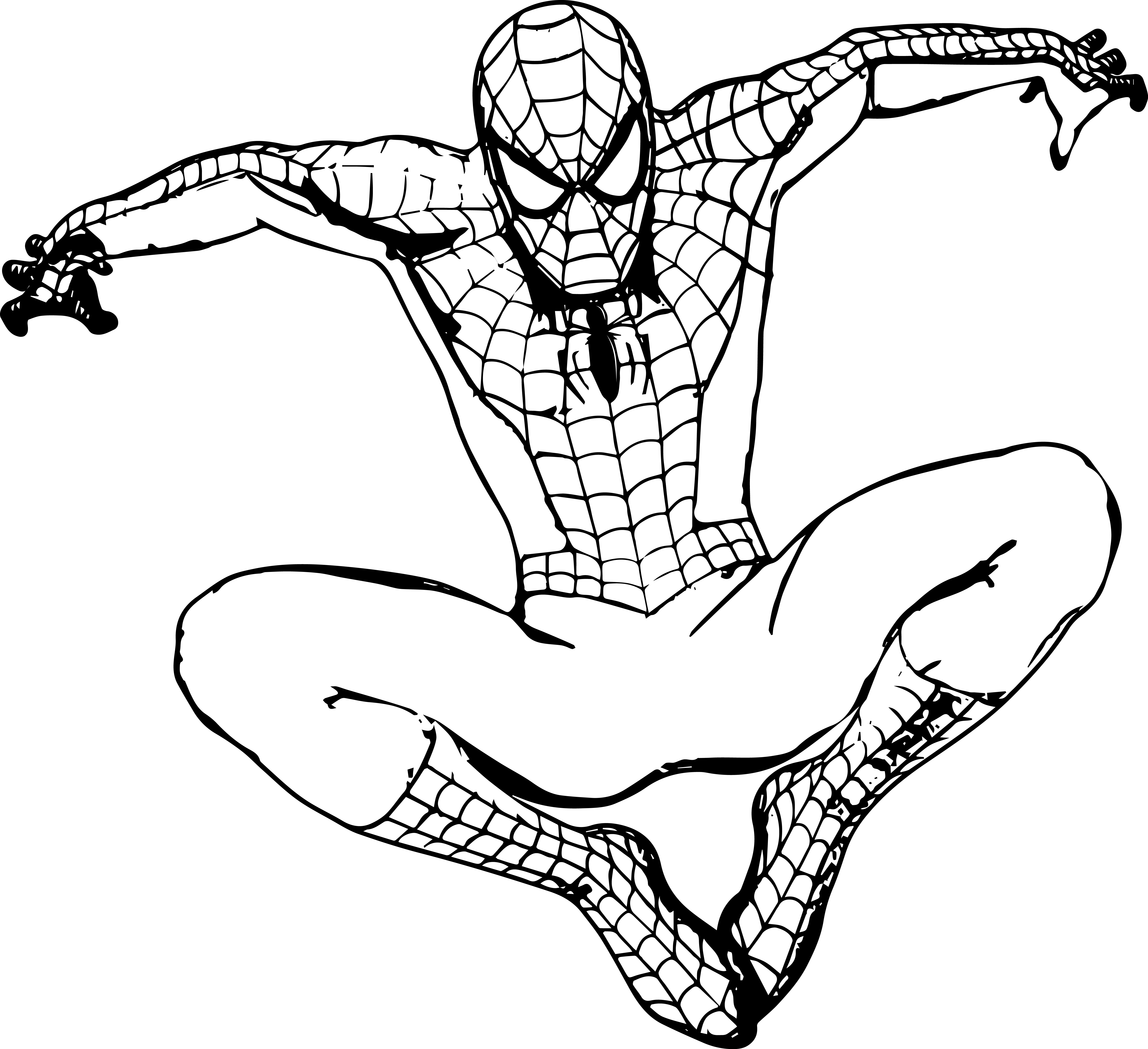 black spiderman coloring black spiderman coloring pages at getcoloringscom free coloring spiderman black