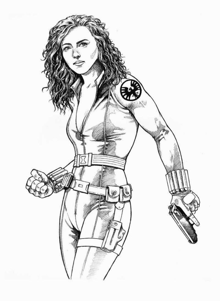 black widow avengers coloring pages black widow coloring download black widow coloring for pages coloring black avengers widow