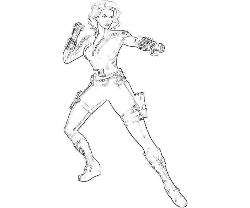 black widow avengers coloring pages black widow from marvel coloring pages free printable black coloring avengers pages widow