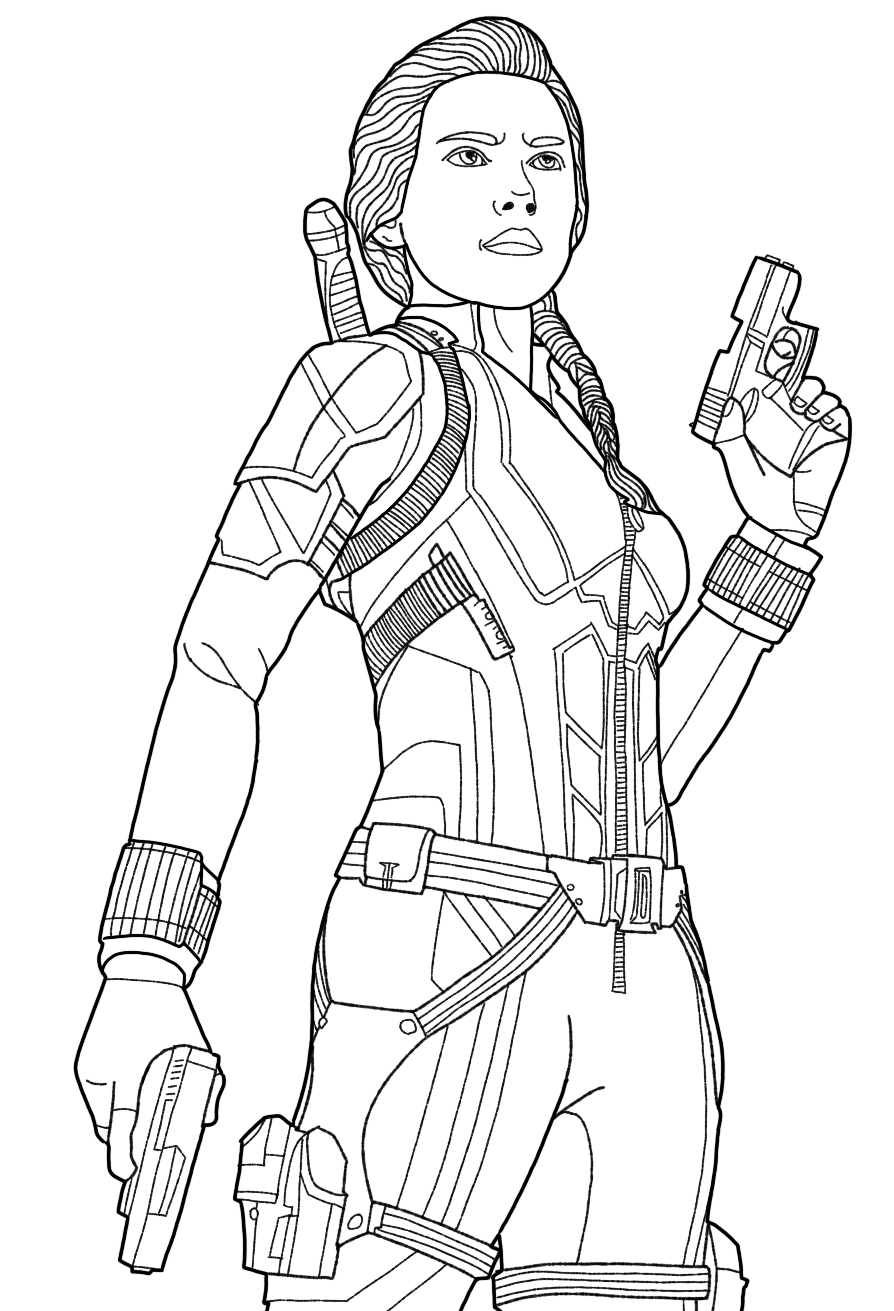 black widow avengers coloring pages marvel black widow coloring pages by markmorales free black pages avengers widow coloring