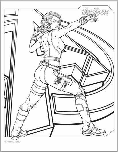 black widow avengers coloring pages marvel superhero black widow coloring pages free widow pages black avengers coloring