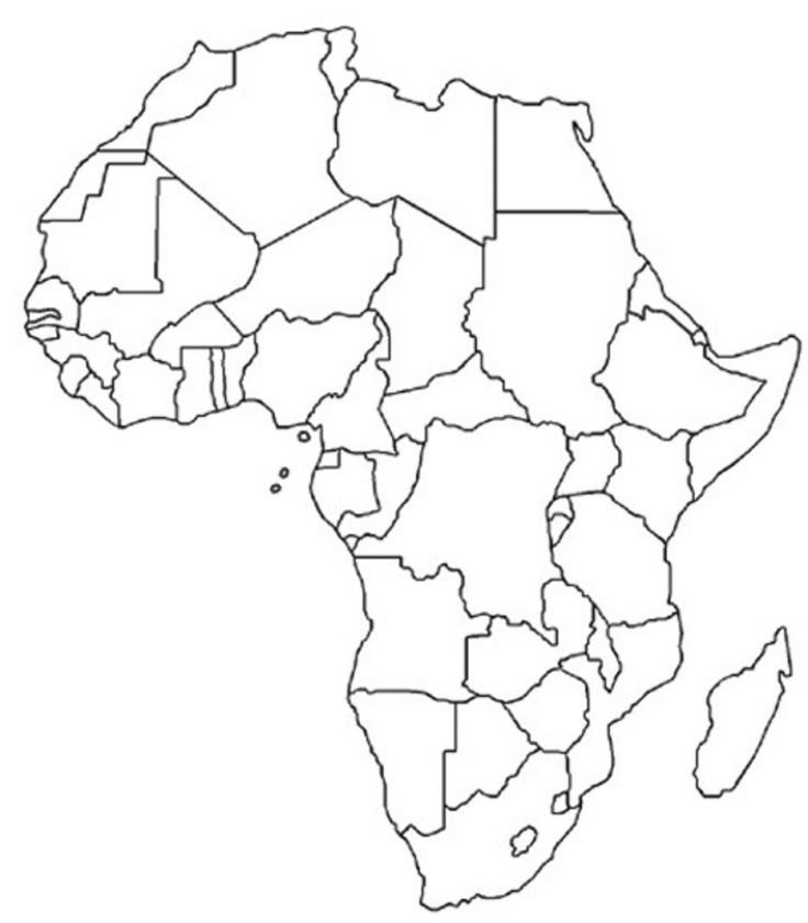 blank south african flag african continent drawing at getdrawings free download african blank south flag