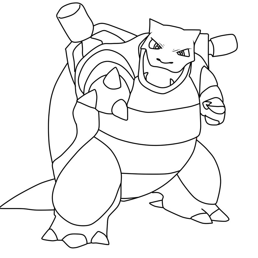 blastoise coloring pages blastoise coloring page for creative people educative pages coloring blastoise