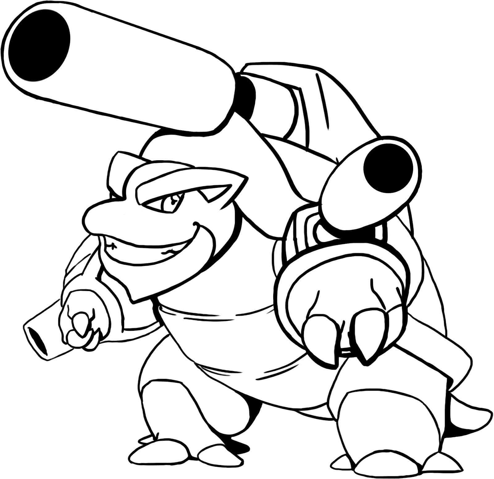 blastoise coloring pages blastoise drawing at getdrawings free download pages blastoise coloring