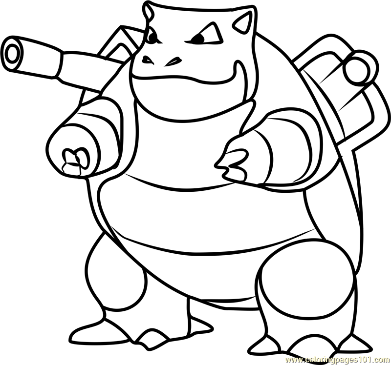 blastoise coloring pages blastoise drawing free download on clipartmag pages blastoise coloring