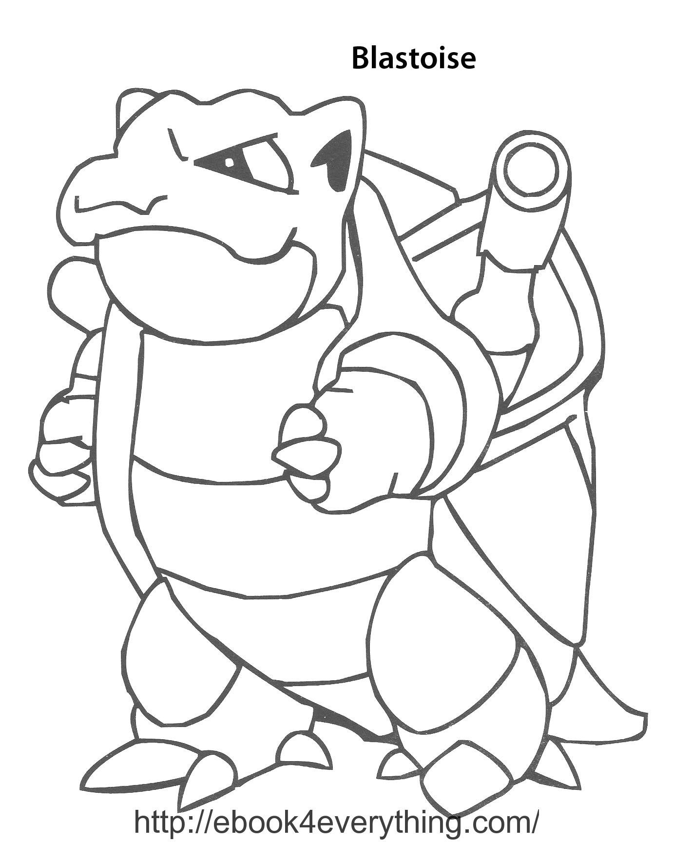 blastoise coloring pages pokemon blastoise coloring pages sketch coloring page blastoise coloring pages