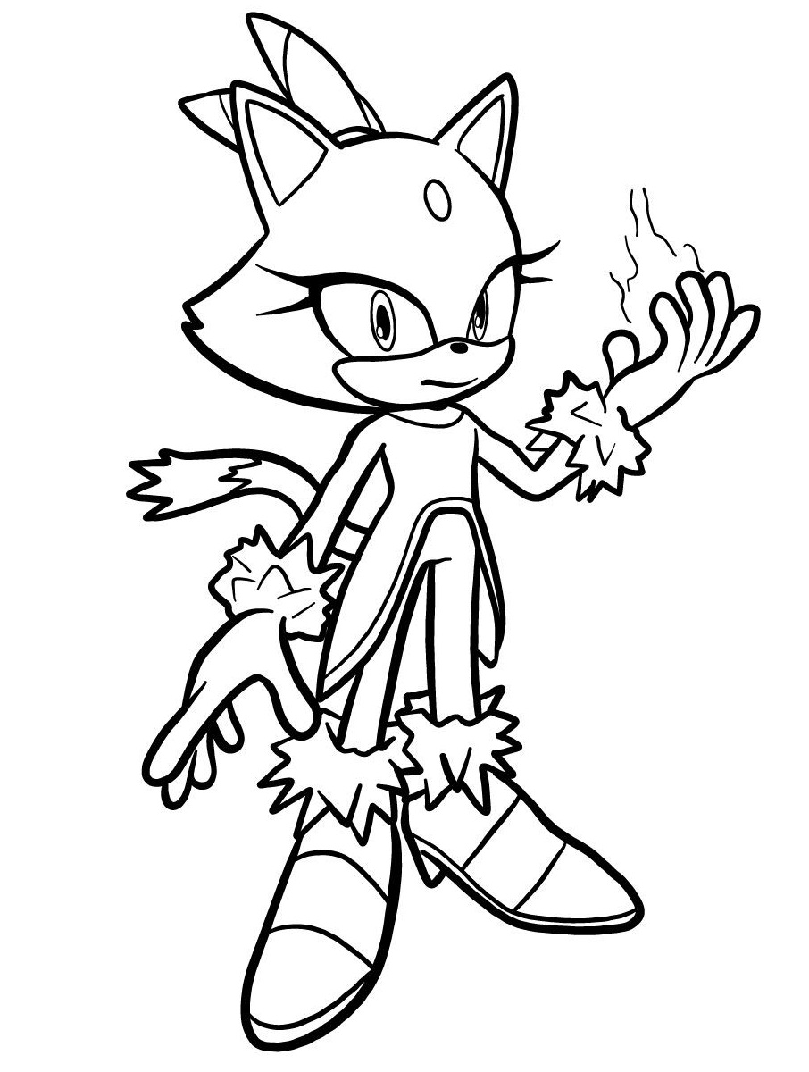 blaze the cat coloring pages cool blaze the cat coloring page free printable coloring cat blaze coloring the pages