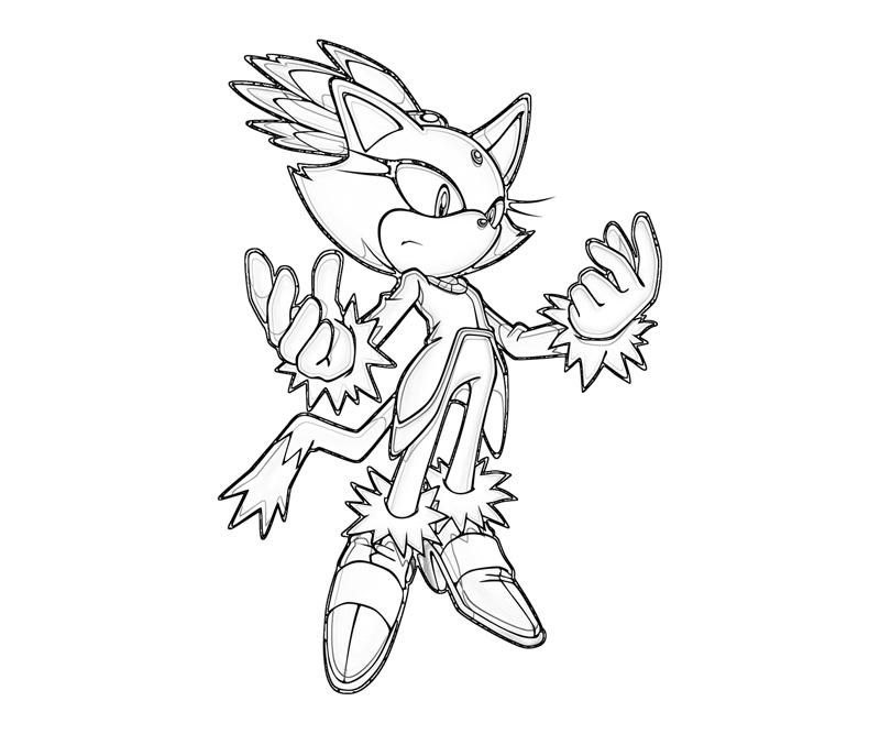 blaze the cat coloring pages sonic generations blaze the cat abilities surfing blaze the pages cat coloring
