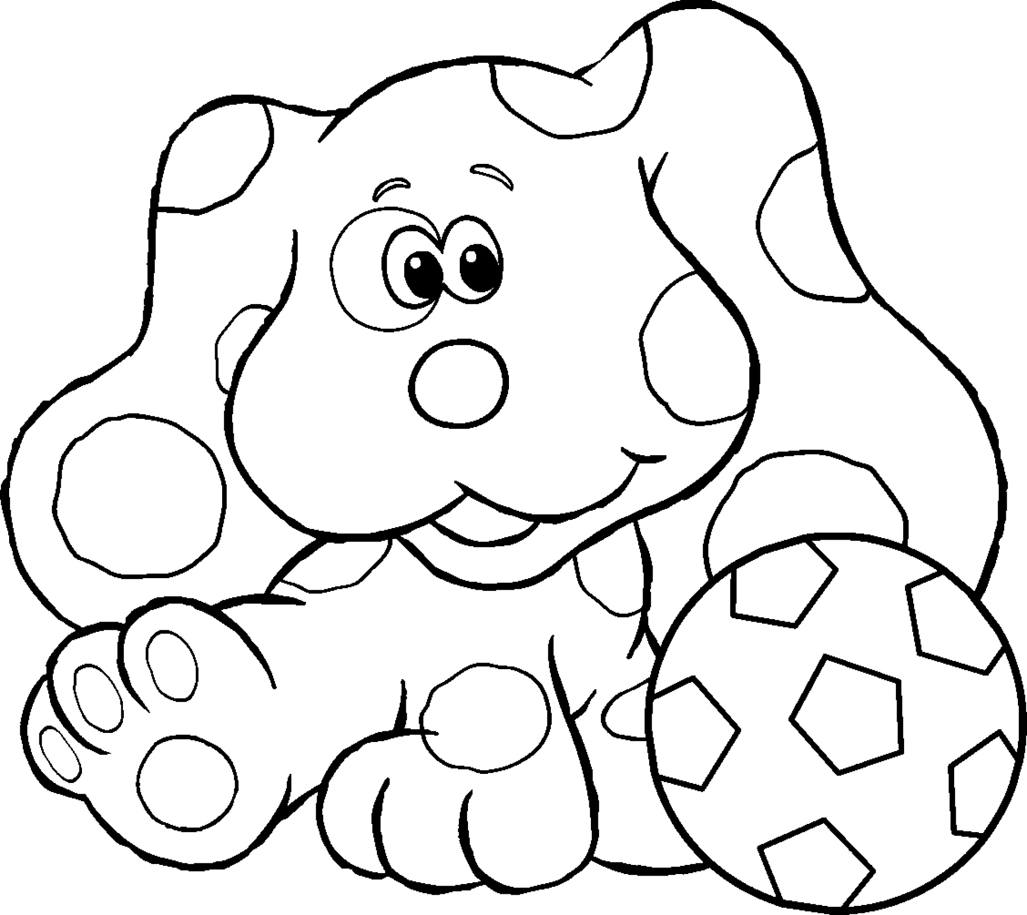 blues clues coloring pages free printable blues clues coloring pages for kids clues blues coloring pages