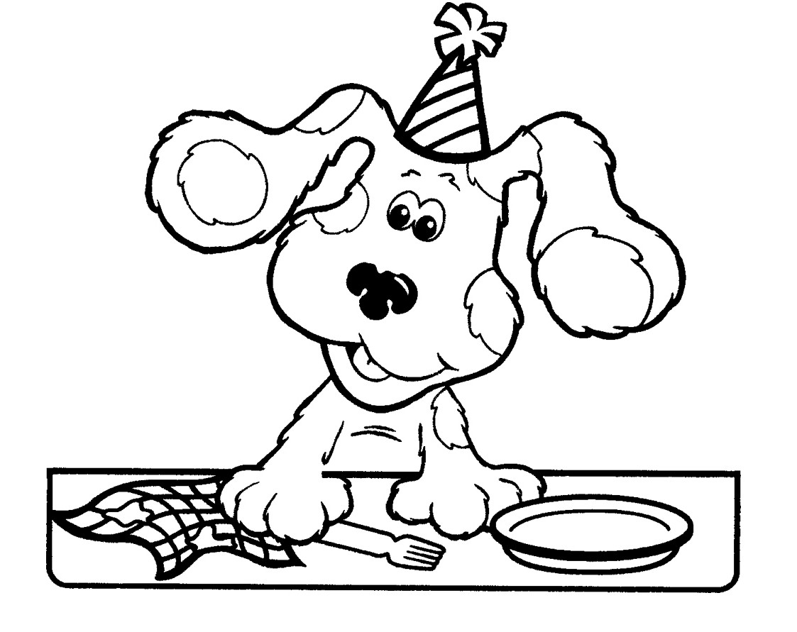 blues clues coloring pages free printable blues clues coloring pages for kids coloring clues blues pages