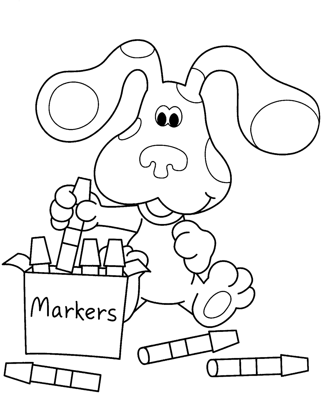 blues clues coloring pages free printable blues clues coloring pages for kids coloring pages clues blues