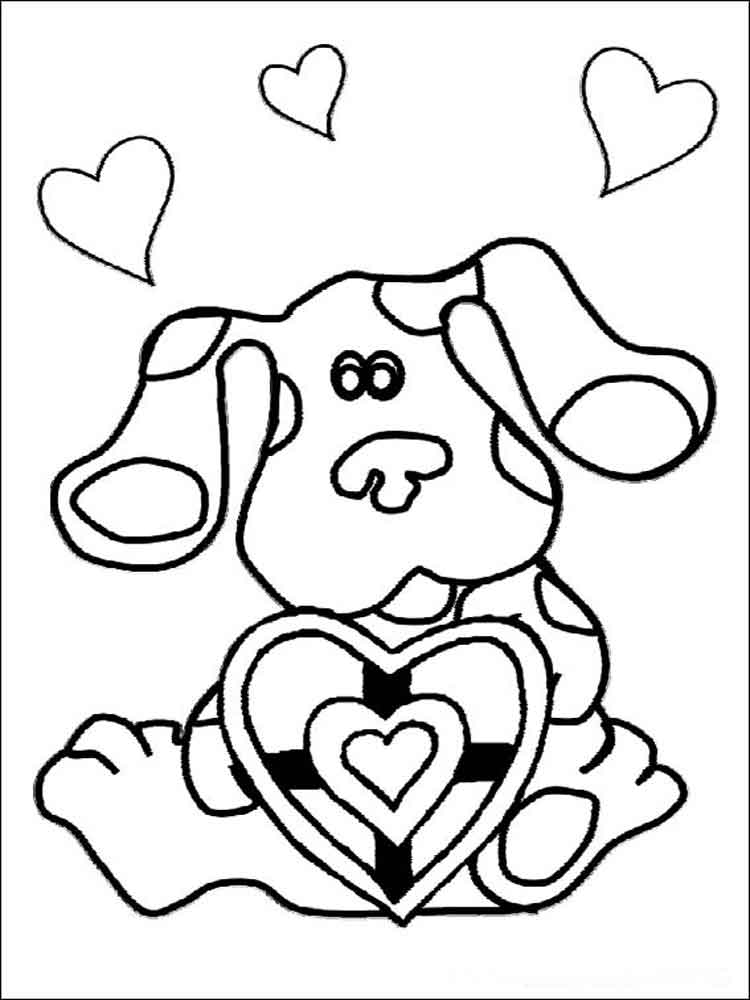blues clues coloring pages fun coloring pages blue39s clues coloring pages coloring pages clues blues