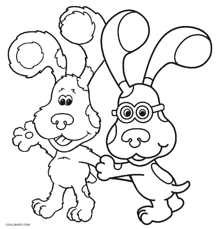 blues clues coloring pages kids n funcom 15 coloring pages of blues clues clues pages blues coloring