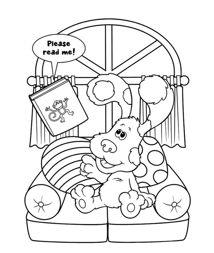 blues clues coloring pages kids n funcom 15 coloring pages of blues clues pages blues coloring clues
