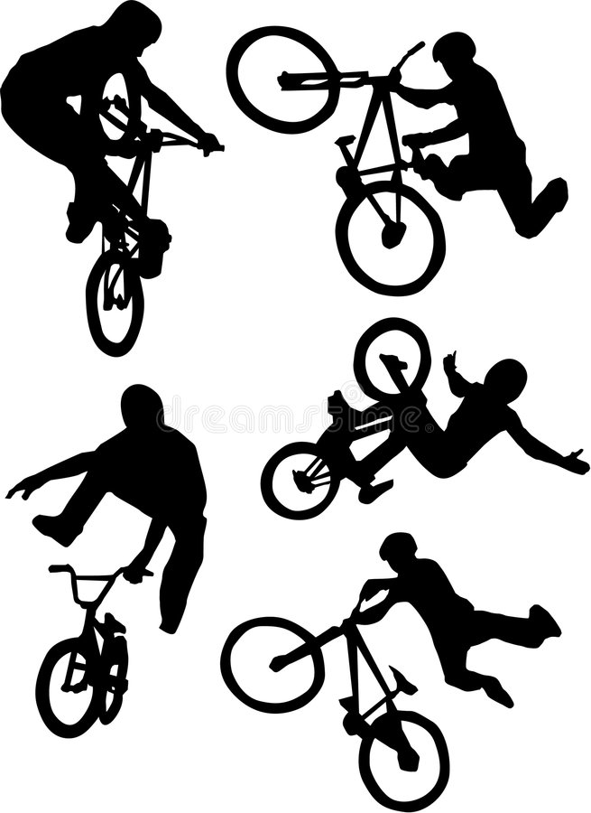 bmx bike outline outline bicycle stock vector illustration of outline outline bmx bike
