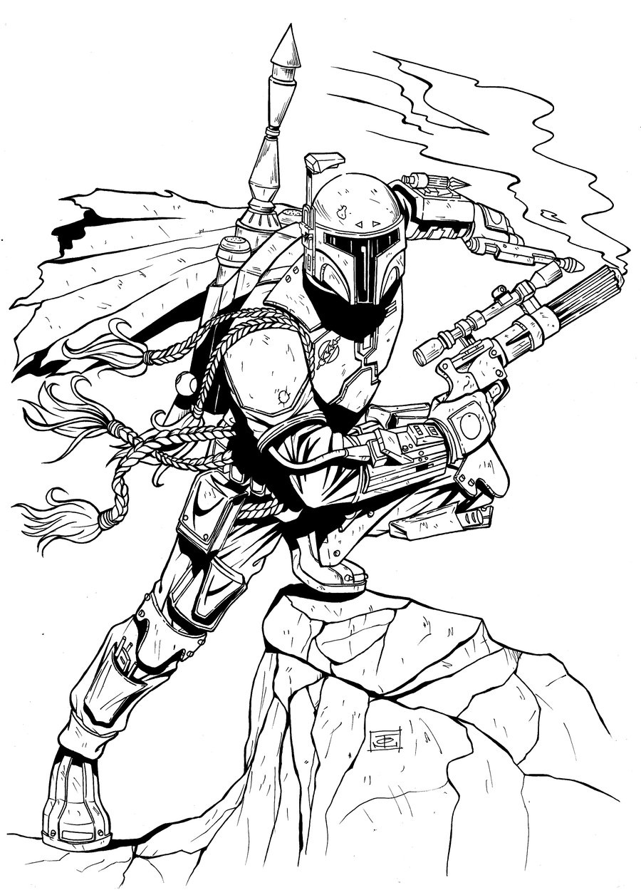 boba fett coloring pages boba fett coloring pages best coloring pages for kids fett boba coloring pages