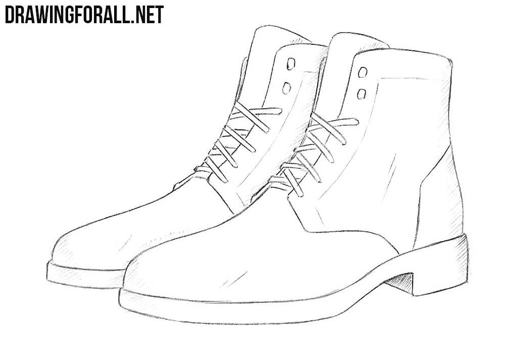 boot draw leather boot or combat boot drawing shemyazza 2019 boot draw