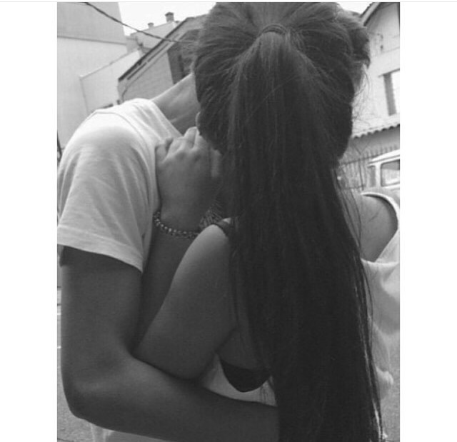 boy and girl kiss black and white boy and girl boyfriend couple couples kiss girl and boy