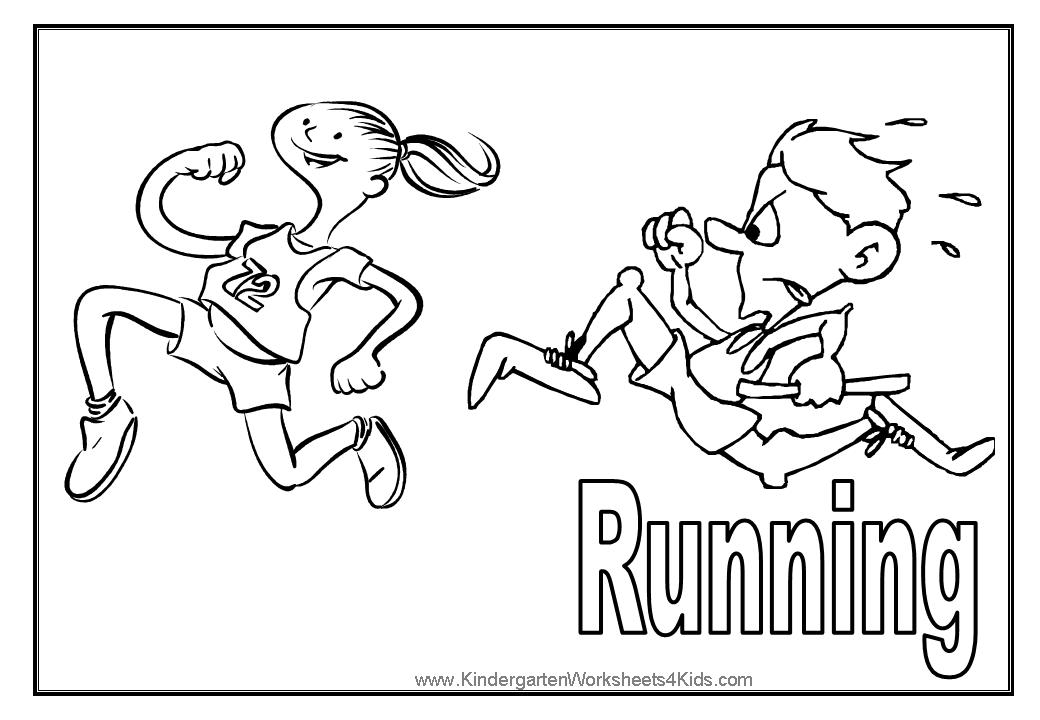 boy running coloring page running coloring page twisty noodle running page coloring boy