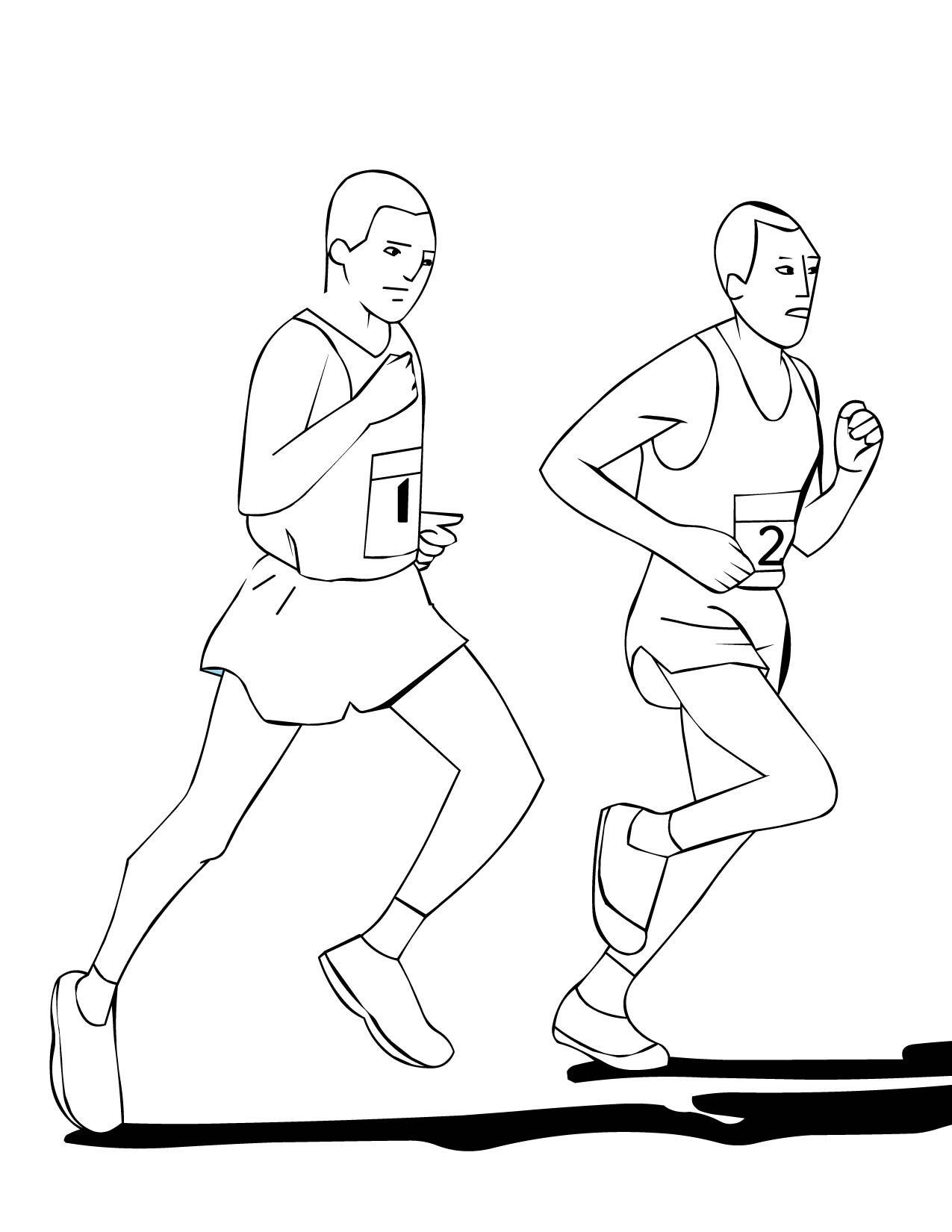 boy running coloring page running coloring pages getcoloringpagescom page running coloring boy