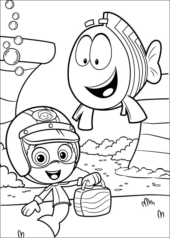bubble guppies coloring sheet 60 best bubble guppies coloring pages images on pinterest bubble sheet coloring guppies