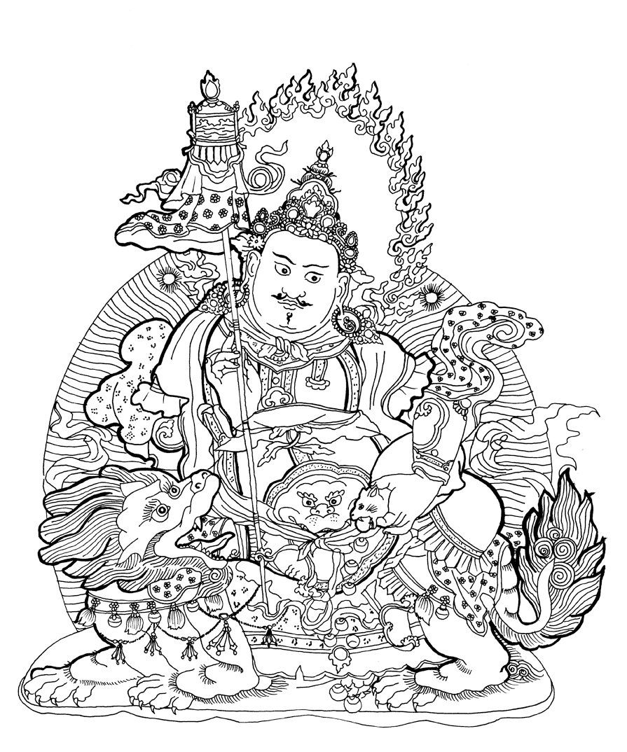 buddhist coloring pages adult coloring book page downloadable amitayus buddha of buddhist pages coloring
