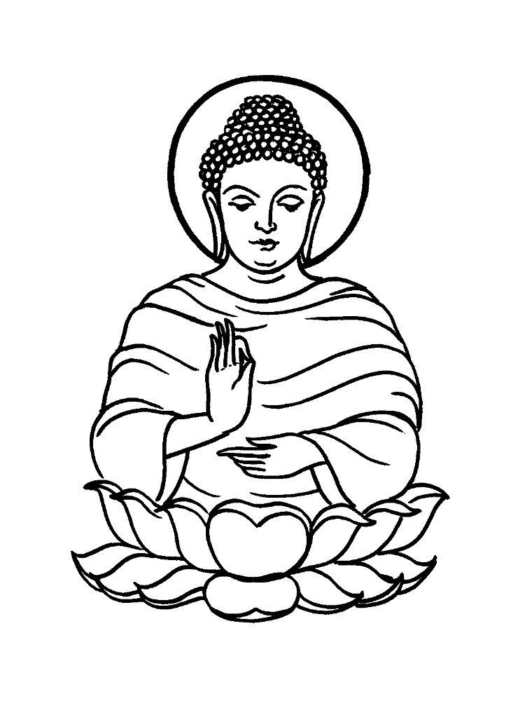 buddhist coloring pages buddha coloring page free religions coloring pages buddhist pages coloring