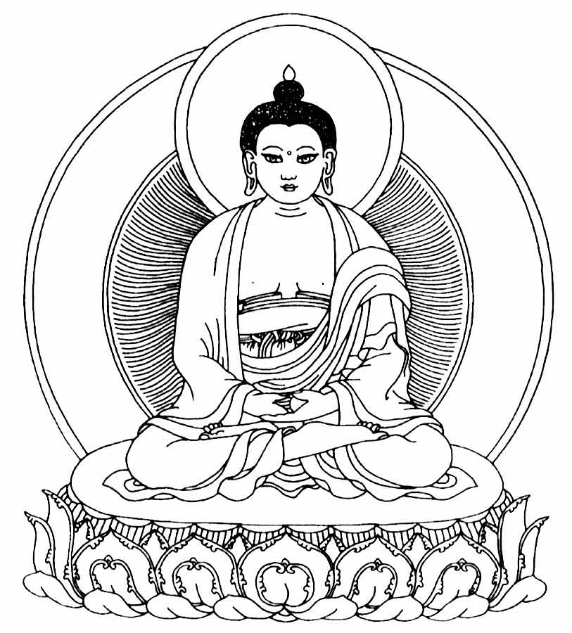 buddhist coloring pages buddha coloring pages at getcoloringscom free printable pages coloring buddhist