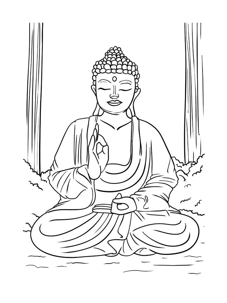 buddhist coloring pages buddha coloring pages books 100 free and printable coloring pages buddhist