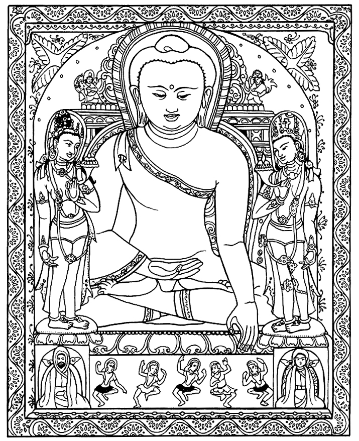 buddhist coloring pages coloring pages of buddha coloring home pages coloring buddhist