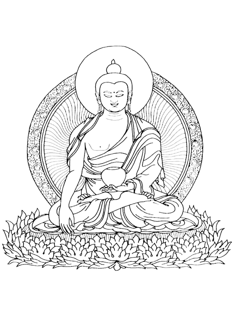 buddhist coloring pages laughing buddha coloring page free printable coloring pages pages buddhist coloring