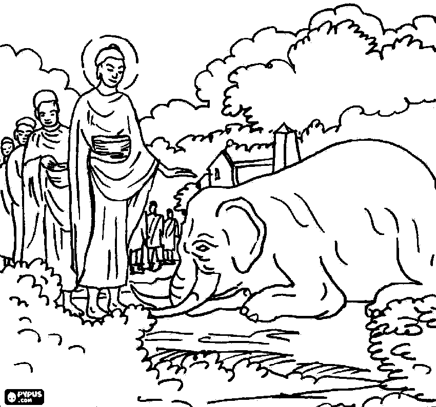 buddhist coloring pages the head of the buddha coloring page free printable pages buddhist coloring