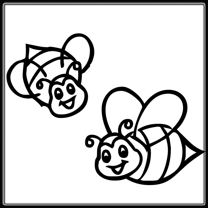 bumble bee coloring page cute cartoon bumble bee rubber coaster coloring page bumble bee page coloring